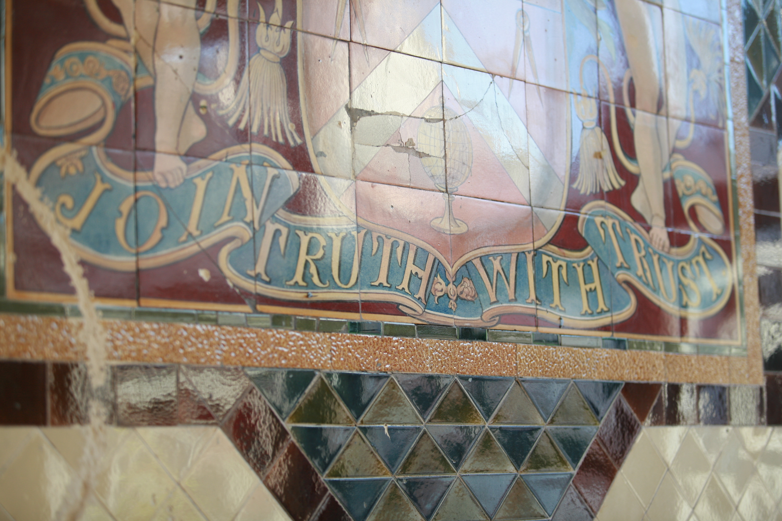 Join truth with trust
