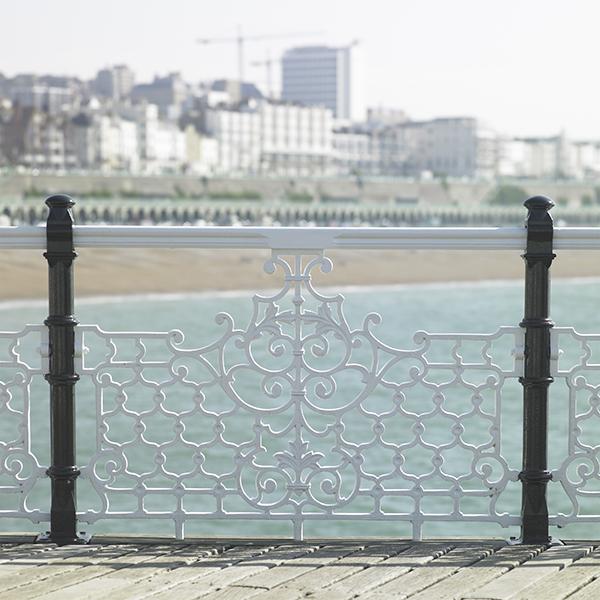 Brighton Morning Pier Fence